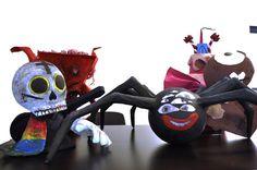 création en papier mâché pinata monstre Minions, Creations, Fictional Characters, Art, Monster Pinata, Paper Mache Crafts, Art Background, The Minions, Kunst