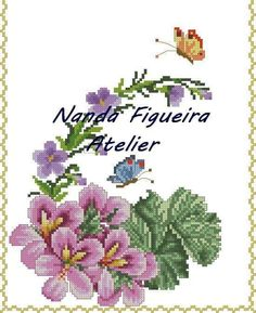 Christmas Embroidery Patterns, Embroidery Patterns Free, Cross Stitch Patterns, Pattern Design, Free Pattern, Diy And Crafts, Arts And Crafts, Hardanger Embroidery, Cross Stitch Flowers
