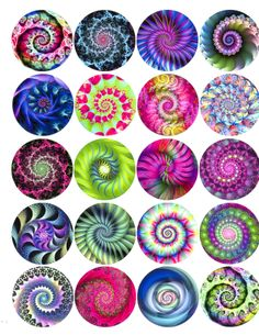 SWIRL TIE DYE PATTERN - 20 PIECES- $24.00