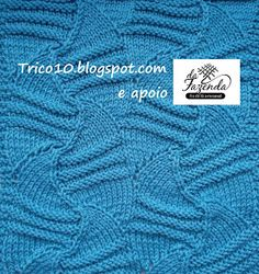Tricô 10 - Knit & Purl: TRICOCIONÁRIO - AJ-0006