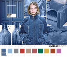 Riverside PANTONE 17-4028 marca a importância do azul na paleta, trazendo…