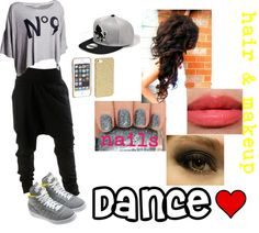 """dance practice wear"" by yara-philips ❤ liked on Polyvore"