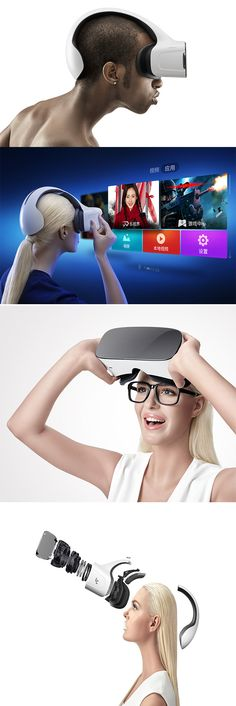 'VR COOLPRO1' is a mobile VR device that combines high technology, fine craftsmanship, and discerning aesthetics, designed to bring virtual reality to a new  level by providing a superior and satisfying experience... READ MORE at Yanko Design !