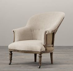 "Deconstructed French Napoleonic Chair  DIMENSIONS  29""W x 34""D x 35""H  from Restoration Hardware"