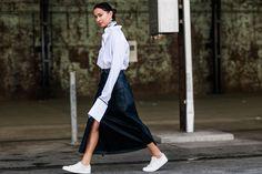 Moda de la calle en la Semana de la Moda de cruceros Sydney 2017