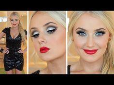 NEW YEARS EVE Makeup + Hair Tutorial! A makeup & hair tutorial perfect for New Years Eve celebrations!