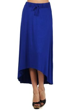 Amazon.com: Kiwi Co. Lily Solid High Low Dress Skirt: Clothing