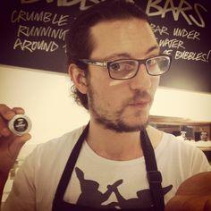 Here is our lovely Jonathan modelling our amazing Lip Service lip balm #crueltyfreekisses