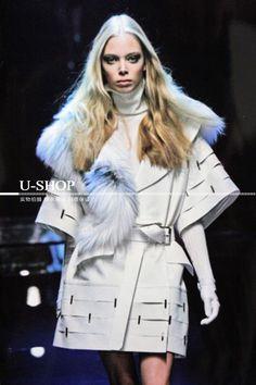Представляем Пальто из искусственного меха, Гуччи, от интернет магазина одежды