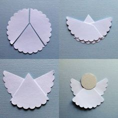 DIY Ornaments for YW Activity | 28 Simple DIY Paper Craft Ideas - Snappy Pixels from scallop circle punch