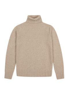 Men/'s Funnel Neck Sweater Jumper Wool Cable Knit Regular Fit Ivory Ribbed Finish