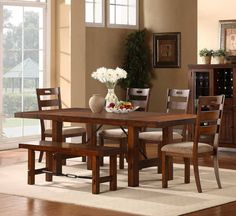 Home Meridian 6 Piece Dining Room Set