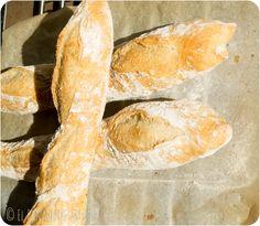 Baguettes con Poolish (o prefermento) | El panadero Casero
