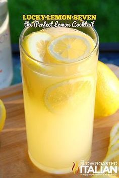 Trust me this is not your Grandma's lemonade! This lemonade cocktail is a combination of the juices of fresh muddled lemons, 7Up and premium vodka. It packs a fabulous flavor and it completely refreshing.