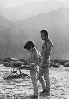 Photo of Steve and Chad McQueen for fans of Steve McQueen.