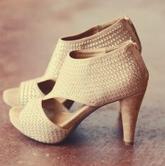 Nude Heels by Rosie True