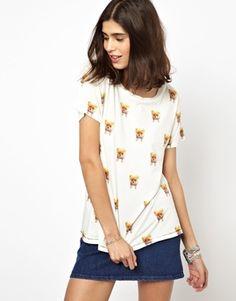 Image 1 ofPaul & Joe Sister T-Shirt with Boo Print