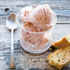 Strawberry-Crème Fraîche Ice Cream | Williams-Sonoma