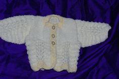 Premature Baby Cardigan - Folksy