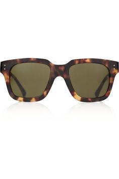 Linda Farrow Luxe Square-frame acetate sunglasses NET-A-PORTER.COM