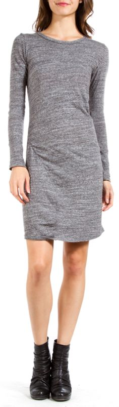 ETOILE ISABEL MARANT Ela Grey Jersey Dress