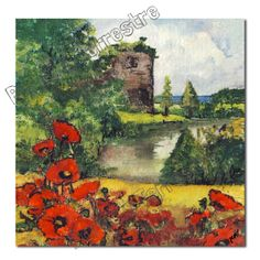 Luxury Textured Print Card  - Old Ruin