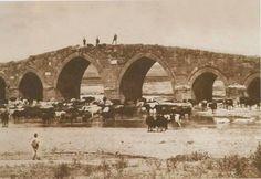 Akköprü 1917.. ( 13 yy Mimarisi Köprü Hala Ayakta )