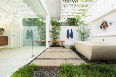 An indoor zen garden/spa. Kihei, HI Coldwell Banker Island Properties $2,850,000