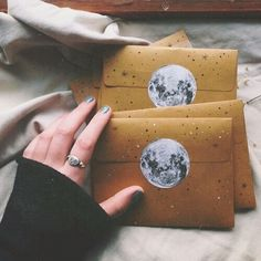 Celestial Envelope Design | Her Tea Leaves