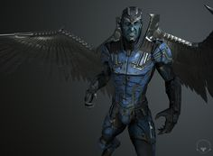 The Archangel character I've made for Comicon thanks to Marmoset Viewer in For those of you not familiar with Marmoset software: shift+drag rotates the sky and also don't forget to check the top right buttons. Archangel, Georgian, Game Art, 3 D, Campaign, Batman, Content, Superhero, Medium