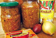 Recept na Houbová pasta Chili, Kimchi, Pasta, Canning, Health, Food, Syrup, Chile, Health Care