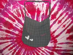 Medium Grey Plaid Messenger Bag $45.00  http://www.etsy.com/listing/116211288/medium-grey-plaid-messenger-bag?ref=pr_shop