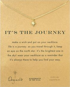 It's The Journey Necklace. Best 18th Birthday Gifts for Girls