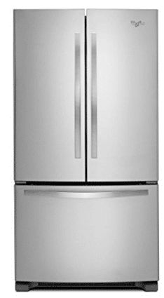 Whirlpool WRF532SMBM 21.7 Cu. Ft. Stainless Steel French Door Refrigerator