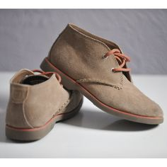Vintage Kids Sperry Top Sider Suede Chukka Bootie Short Ankle Boot Lace Up Rubber Sole Childrens Shoe Size 1M on Etsy, $20.78 CAD