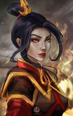 Avatar Azula, Avatar Legend Of Aang, Team Avatar, Legend Of Korra, The Last Avatar, Avatar The Last Airbender Art, Avatar Fan Art, Avatar Cartoon, Avatar Series