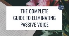 As an editor, I correct passive voice every day. It's a common problem and easy to fix. Check out this complete guide to fixing passive voice!