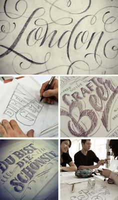 Hand lettering tutorials and resources