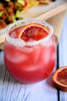 Blood Orange Margarita - The Housewife in Training Files