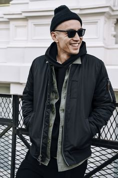 Eugene Tong shot by Tommy Ton.