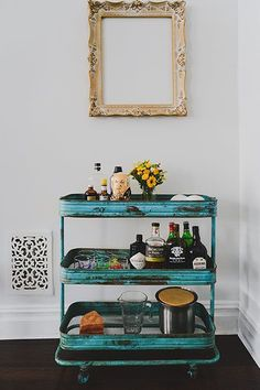 This NY Mag Editor's BK Space Might Be Our Dream Home  #refinery29  http://www.refinery29.com/renovated-brooklyn-apartment#slide5  All of our dream homes have bar carts in them. One of our favorite aspects of this home is its flexible options for entertaining. With several seating areas that fit anywhere from a few to a lot of people, Carolyn can host intimate gatherings or full blown parties. The big, industrial kitchen doesn't hurt, either.