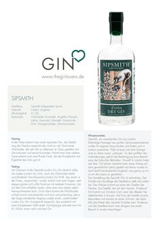 Sipsmith London Dry Gin / Gin Review