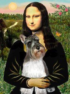 mona lisa with Sophie