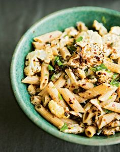 Whole-Wheat Penne with Spicy Roasted Cauliflower ~ Healty Food Recipes, Diet Tips, Desserts And A Lot More