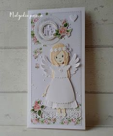 First Communion Cards, Cute Cards, Christening, Cross Stitch, Scrapbooking, Invitations, Art Kids, Cards, First Holy Communion