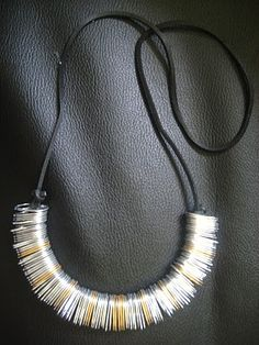 Sufi's World: Soda Can Tab Necklace.