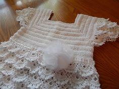 Vestido Blanco Crochet parte 1 de 3 - YouTube