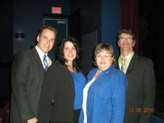 Alex and Leighann Nickerson and Steve and Harlene Wiseman