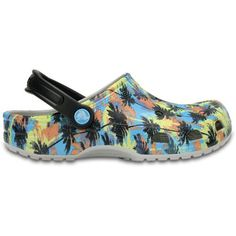 ca7f8a704d7b9 Crocs Men s Classic Tropics Clogs (Multi Blue