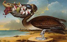 kevin sloan. | Kevin Sloan | Allegorical Realist painter | The Golden Garden